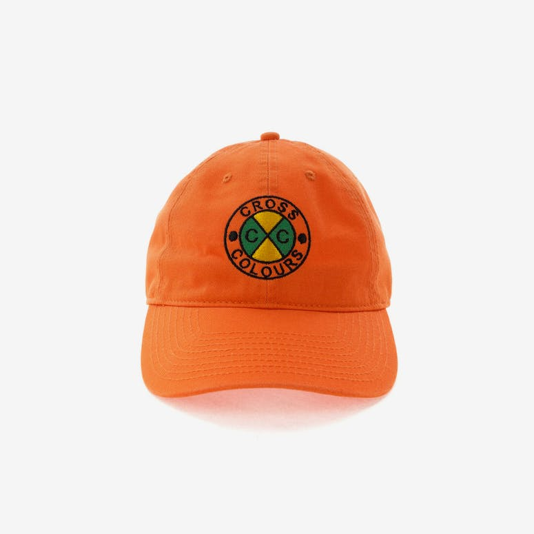 Cross Colours LA Classic Embroidered Dad Hat Orange – Culture Kings 6b64ee26e5ef