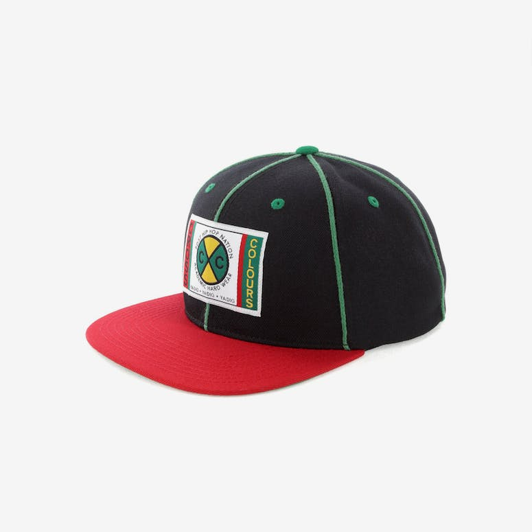 Cross Colours LA Classic Soutache Snapback Black – Culture Kings b260de94b70