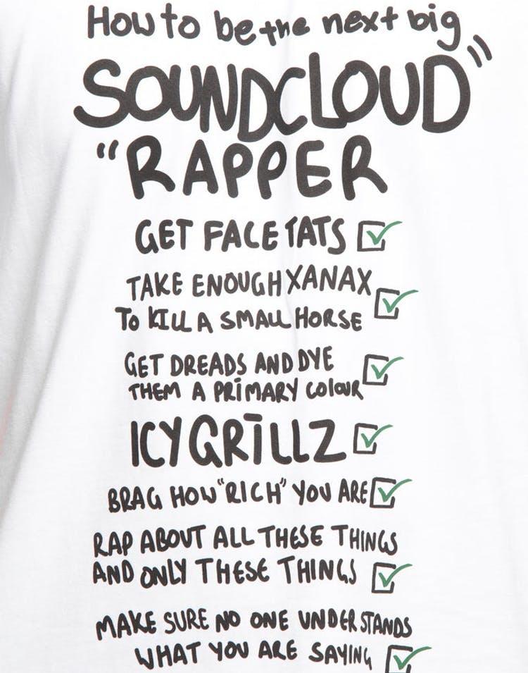 d24565113a535 Goat Crew Soundcloud Check List Tee White – Culture Kings