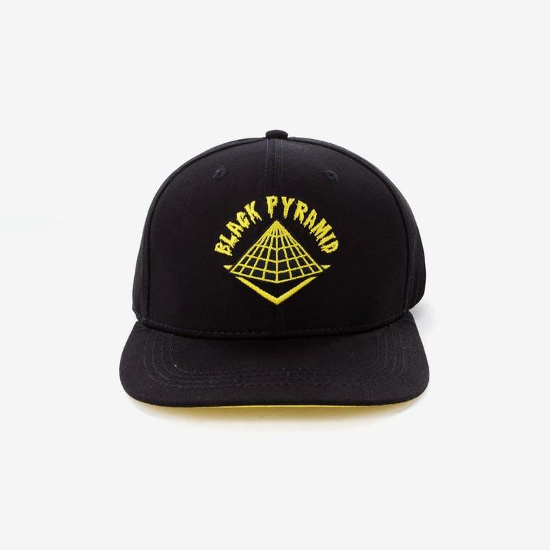 Black Pyramid Pyramid Snapback Black Yellow – Culture Kings fd10ce13476