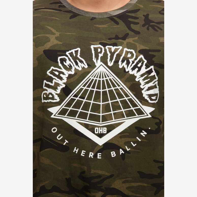 Black Pyramid Pyramid Tee Multi-Coloured