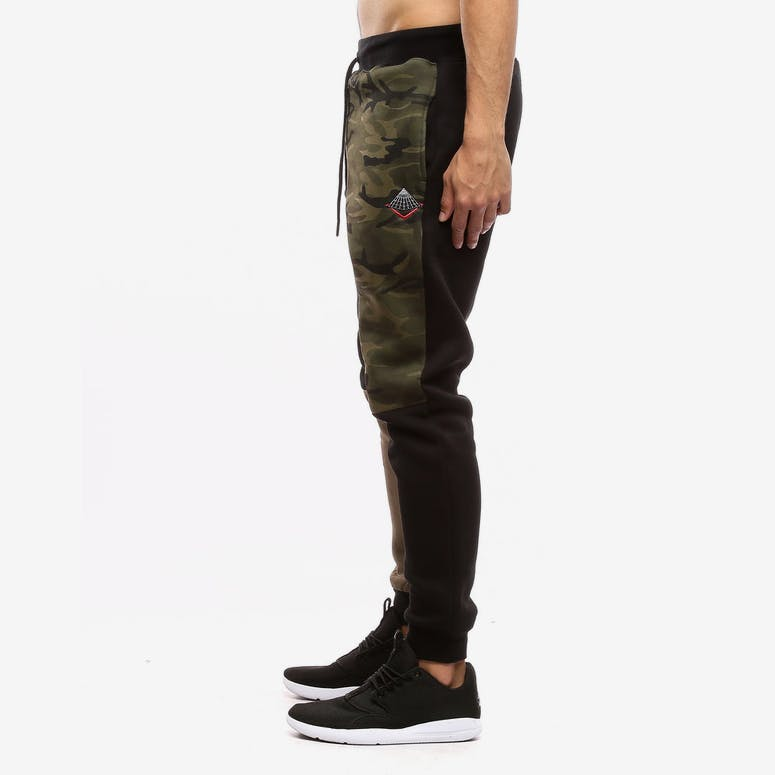 Black Pyramid Blocks Pants Multi-Coloured