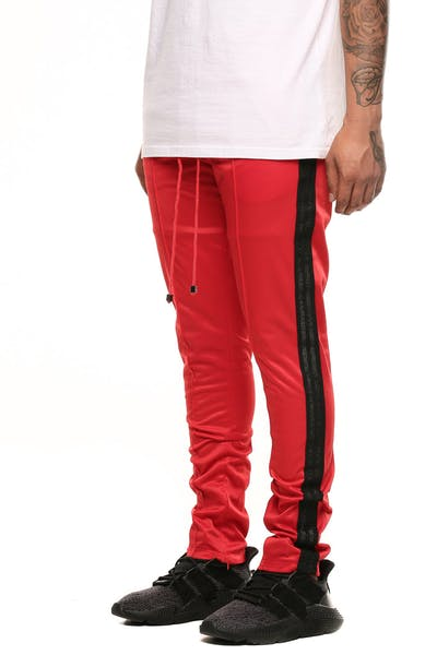 Serenede Beijing 9am Track Pants Red/Black