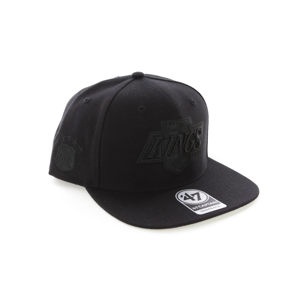 Eishockey Weitere Wintersportarten 47brand Los Angeles Kings Captain Vintage Snapback Black