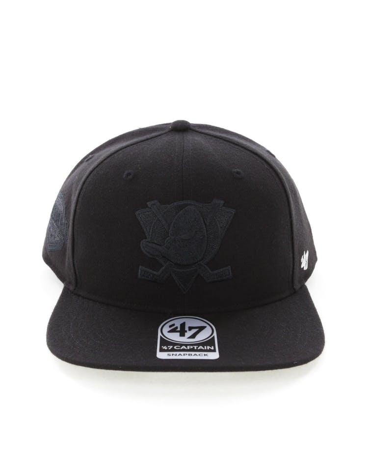 6d231867 47 Brand Anaheim Ducks Captain Snapback Black/Black – Culture Kings