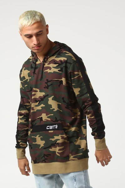 Carré Trait Lightweight Hood Camo