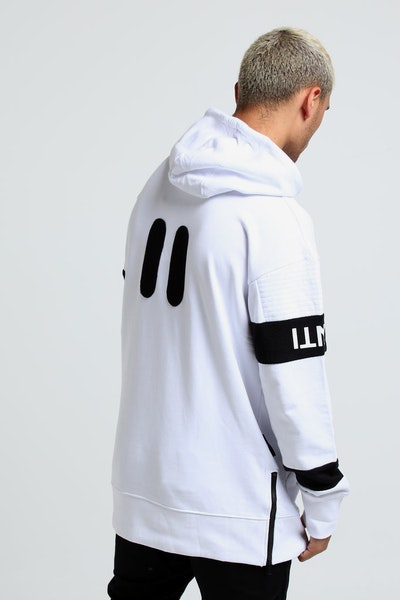 The Anti-Order Non-Decimal Hoody White/Black