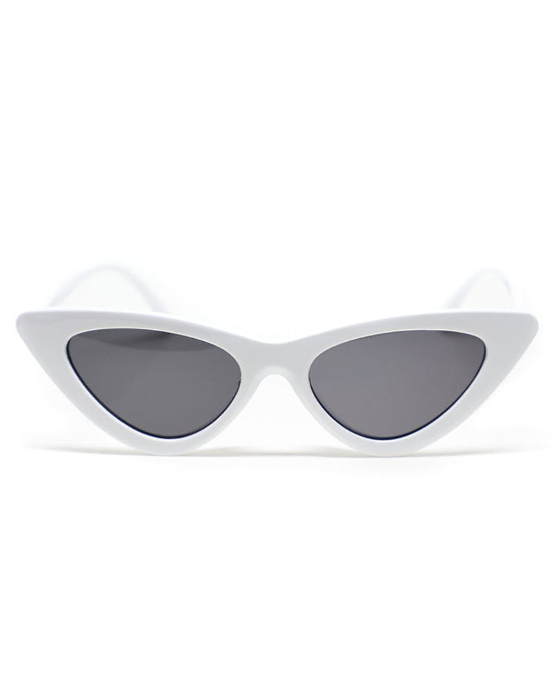 ENES Wavy Sunglasses White/Black