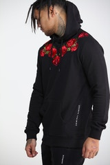 Criminal Damage Thorn Hood Black/Multi-Coloured
