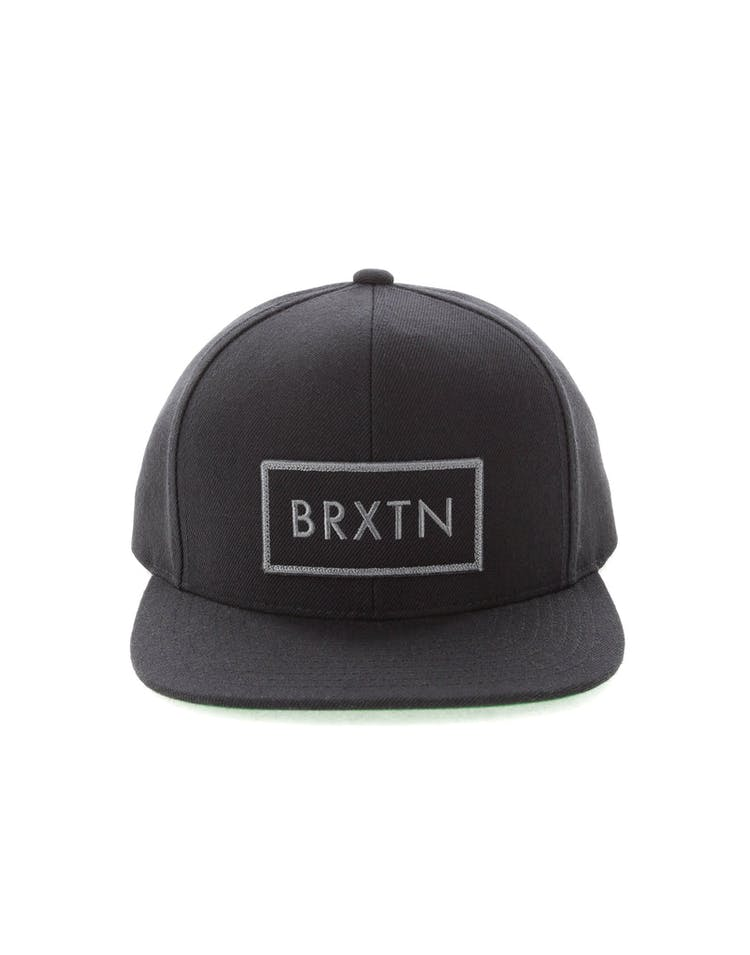 3ddc665813 Brixton Rift Snapback Black/Green