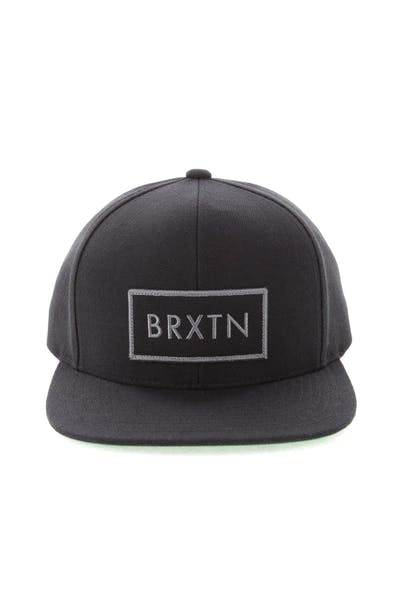 watch 622ca dbe8f Brixton Rift Snapback Black Green