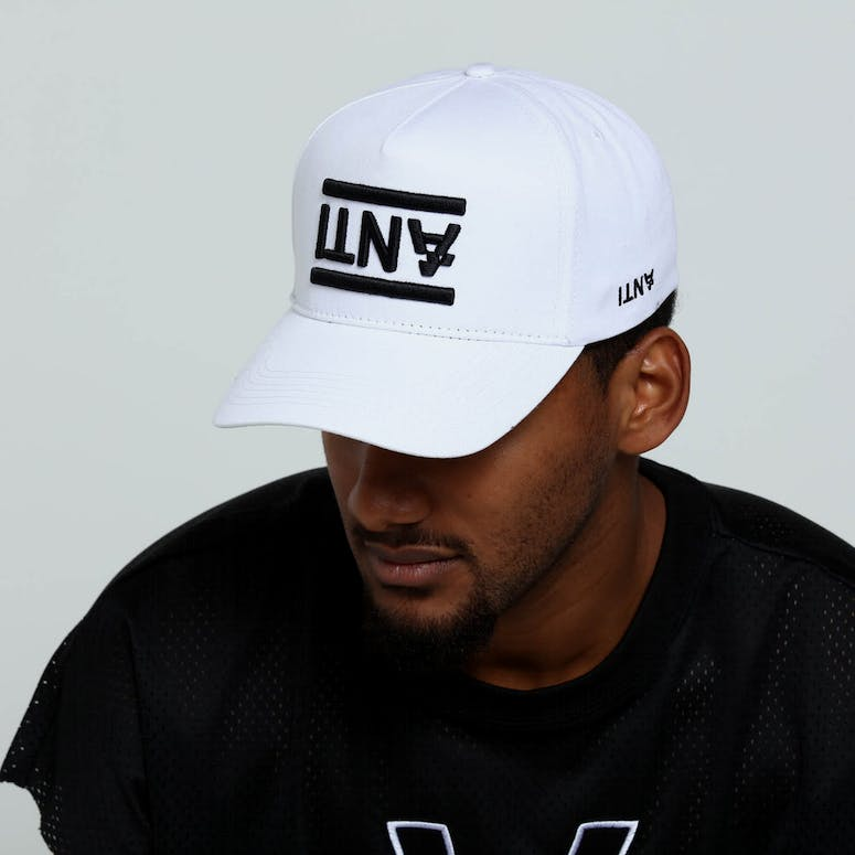 The Anti-Order Non-Brand A-Frame Strapback White/Black