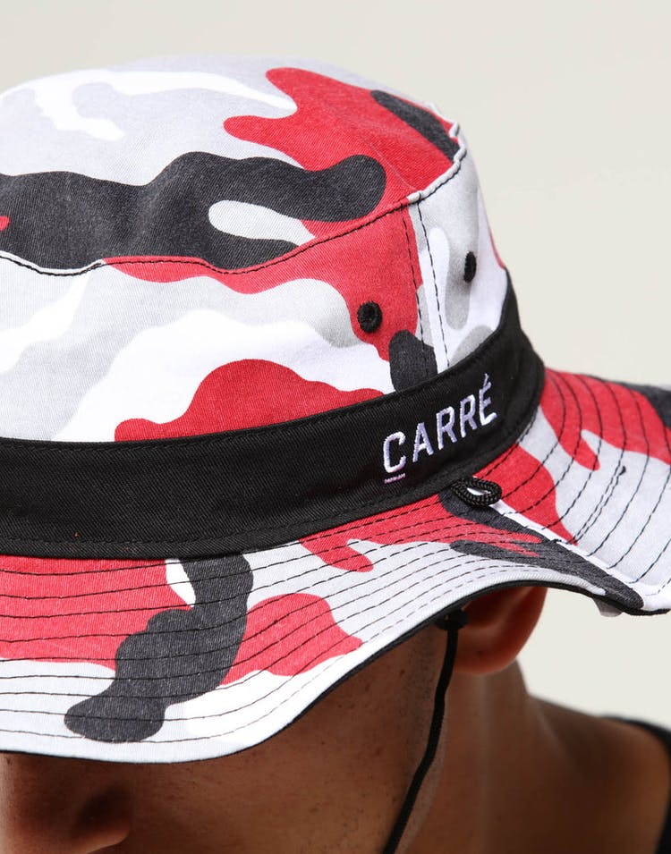 ad31f7f11c559a Carré Camo Rouge Reversible Boonie Bucket Red Camo – Culture Kings