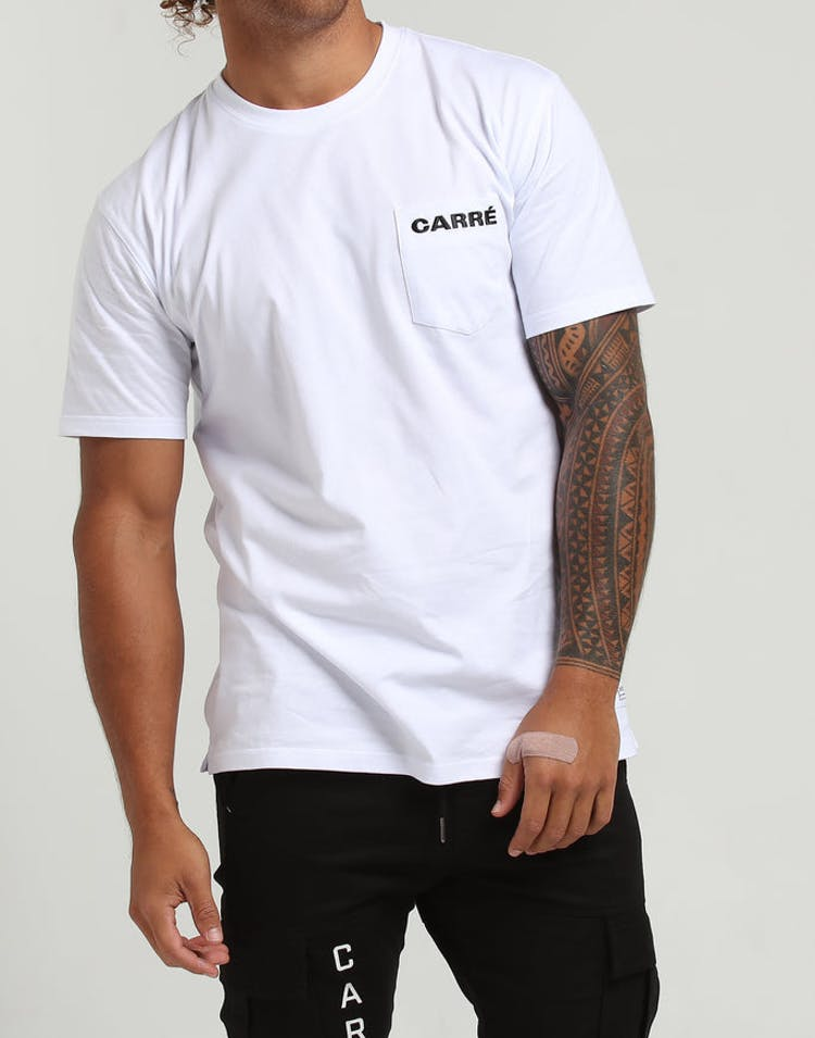 1a43b257f Carré Responsive SS Tee White – Culture Kings