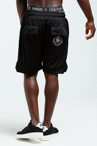 Saint Morta Sideline Basketball Short Black