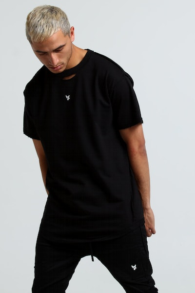 The Anti-Order Anti Seam Tall Tee Black