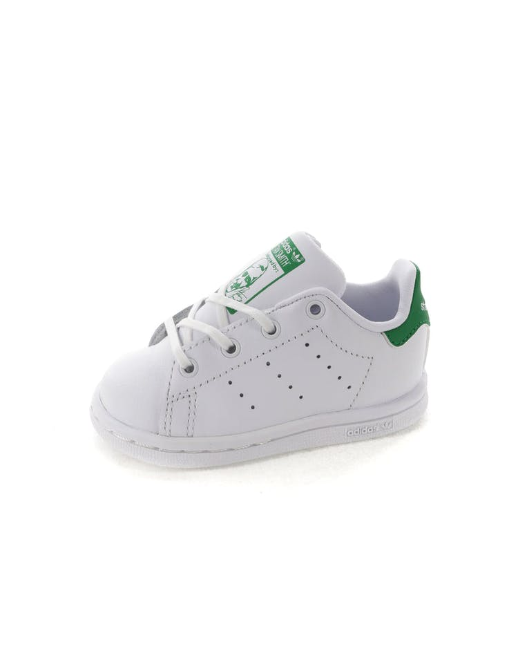 best service a471f 08bcc Adidas Stan Smith Infant White/Green