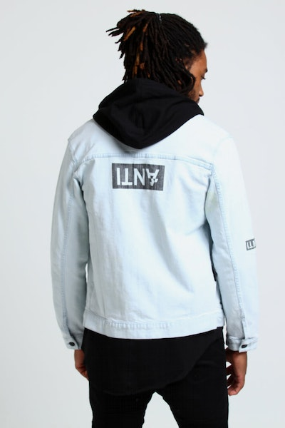 The Anti-Order Non-Stencil Denim Jacket Bleach Wash