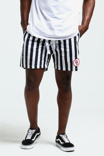 Draft Day Chain Gang Shorts Black/White