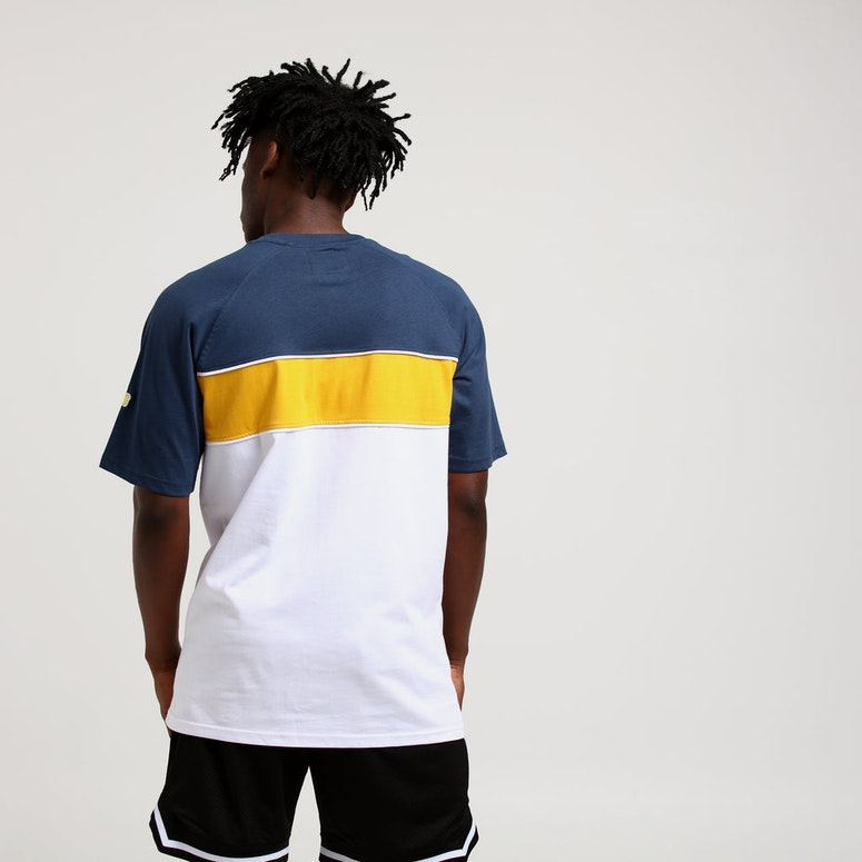 Grand Scheme Offside Tee White/Blue/Yellow