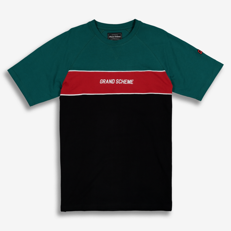 Grand Scheme Offside Tee Black/Green/Red