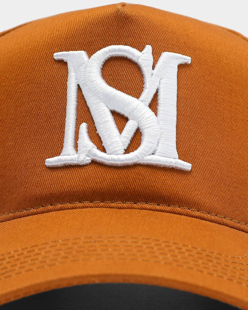 Saint Morta Monogram Strapback Toasted Peanut