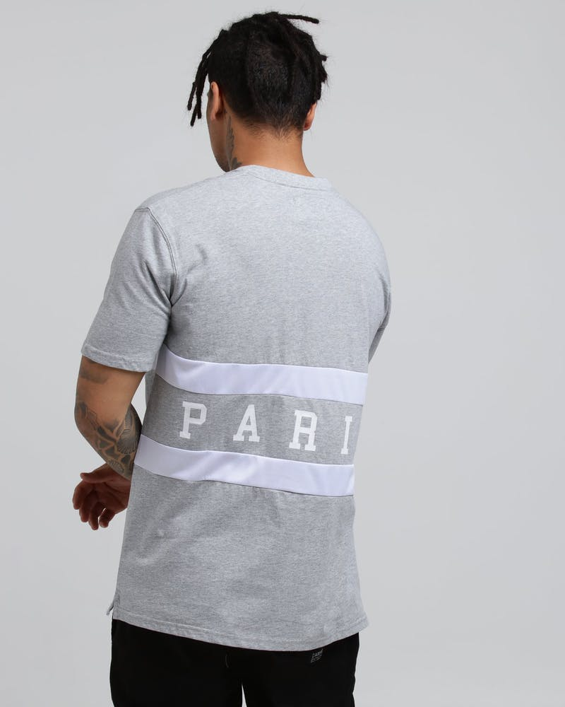 Carré Equipe Classique SS Tee Grey Marle