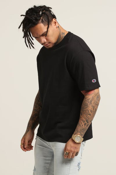 b9615ac5 Champion Blank Short Sleeve Tee Black
