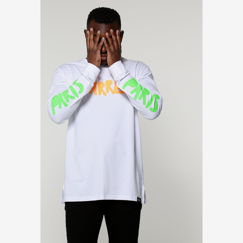 Carré Manic Divise LS Tee White