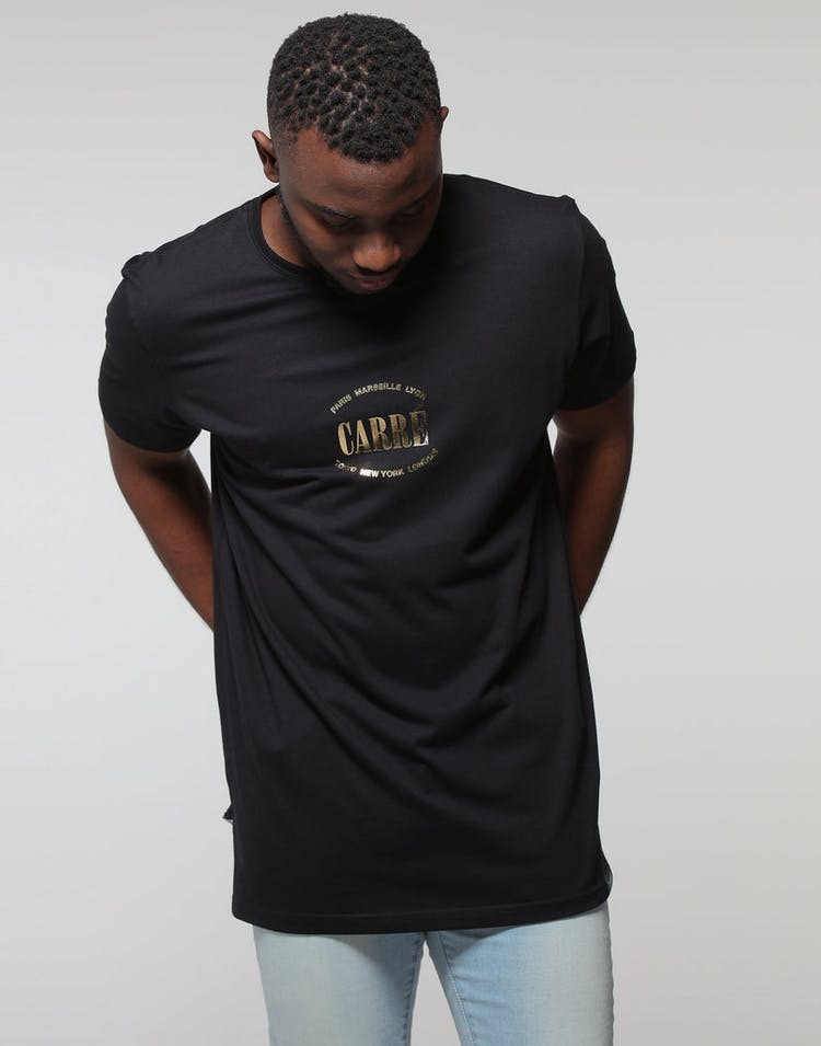 Carré Location Divise SS Tee Black/Gold