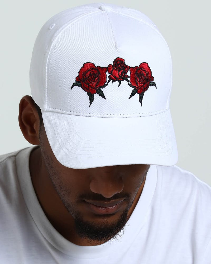 Saint Morta Bouquet Strapback White