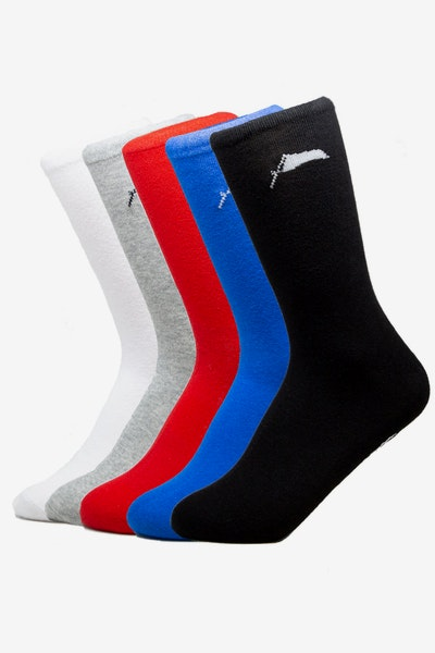 25f7ead7f58 Draft Day Flag Sock 5 Pack Multi-Coloured