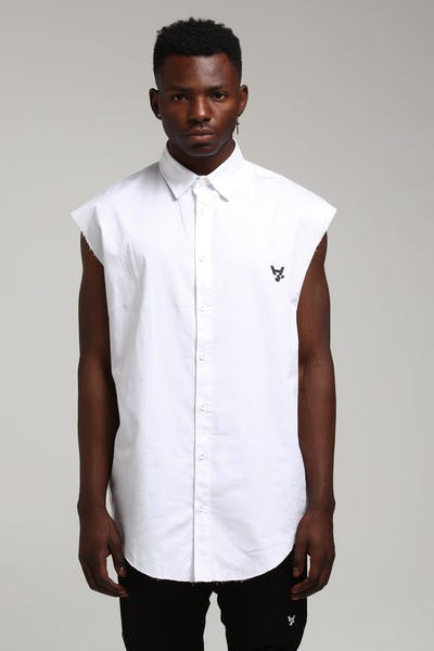 The Anti-Order Non-Repair Cut Off Top White