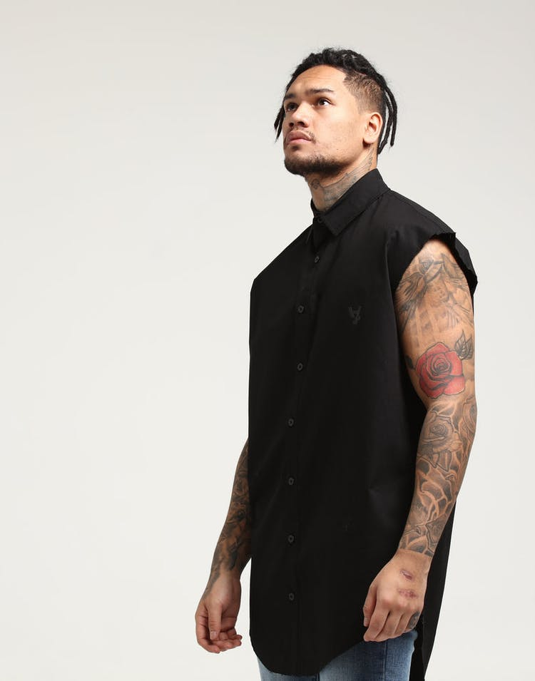 The Anti-Order Non-Repair Cut Off Top Black