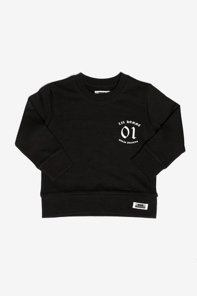 Lil Homme Ancient Crew Black