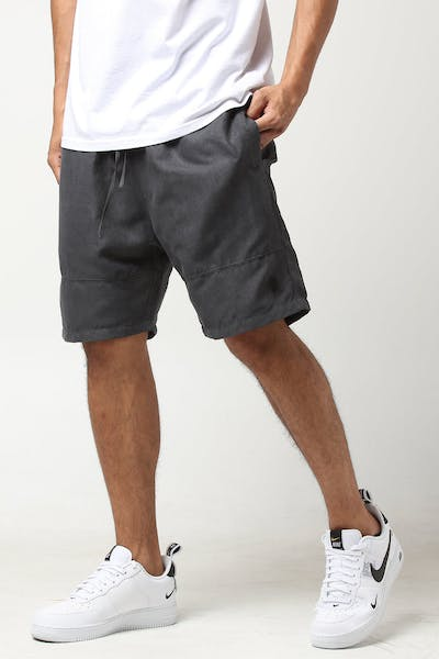 Last Kings Suave Shorts Black/Grey