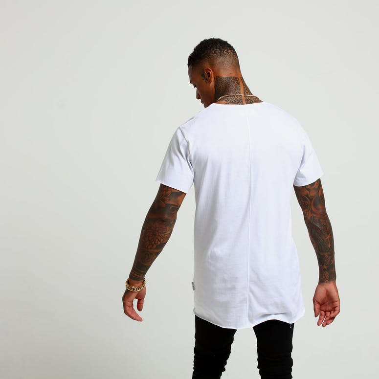 Saint Morta Wreath Tall Tee White