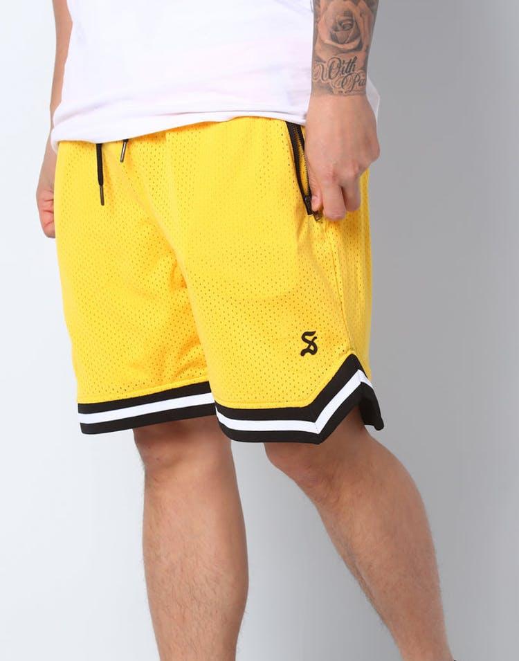 2fb7812c8 Saint Morta Mesh Basketball Short Yellow – Culture Kings