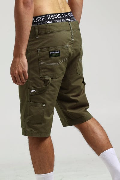 Draft Day Chippy Shorts Olive