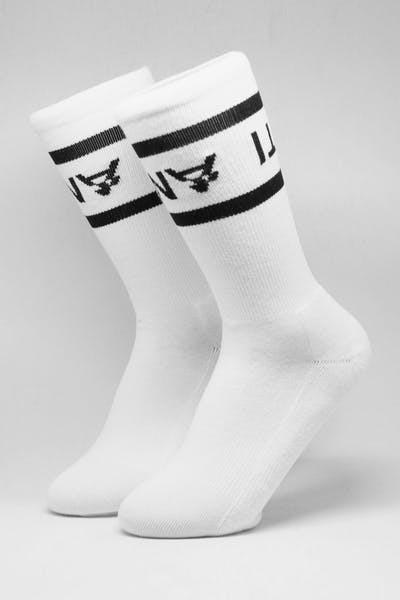 The Anti-Order A2 Sock White