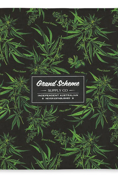 Grand Scheme Maui Wowie Bandana Black/Green