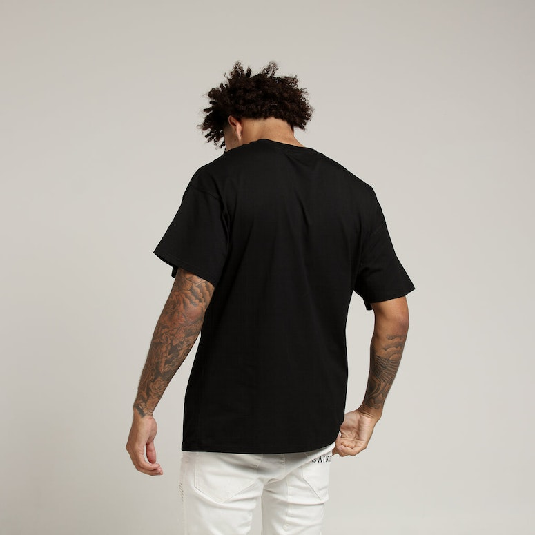 New Slaves Oversized Tee Black