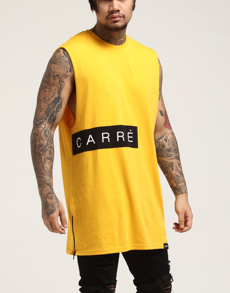 816a988a2 Carré Piece Muscle Yellow – Culture Kings