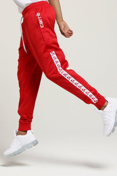 Carré Zidane Trackpants Red