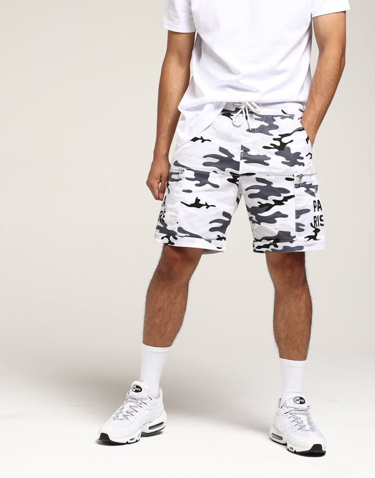Carré Tactique Shorts Snow Camo