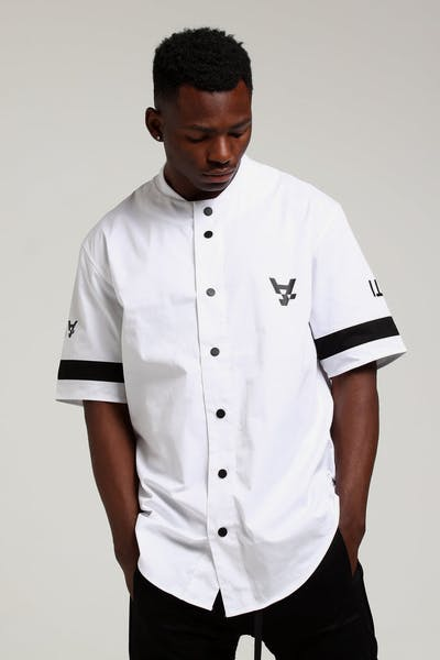 The Anti-Order Leisure Baseball Jersey White/Black