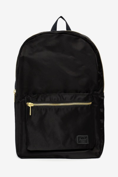 Herschel Bag Co Settlement Backpack Black Gold
