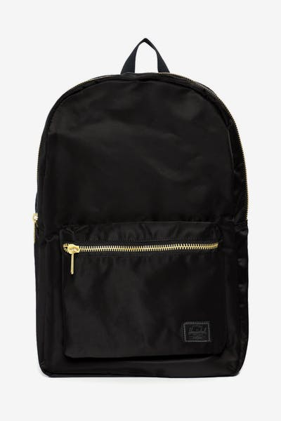 36af0808655a Herschel Bag Co Settlement Backpack Black Gold