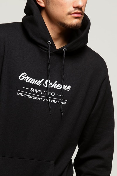 Champion X Grand Scheme Independent Aus Hood Black