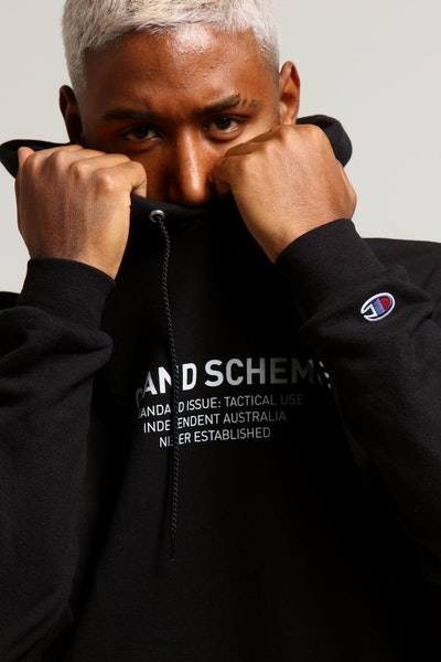 Champion X Grand Scheme Standard Issue Hood Black